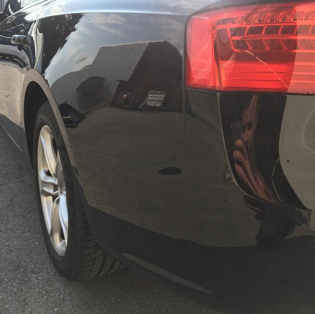 Audi A5 Parkschaden
