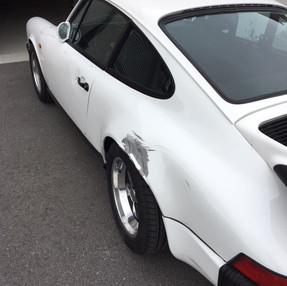 Porsche 911 Seitenschaden