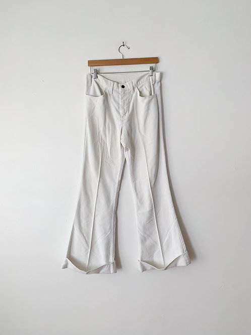 White Levis Bell Bottoms | 32w