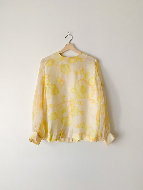 Jaune Watercolor Blouse