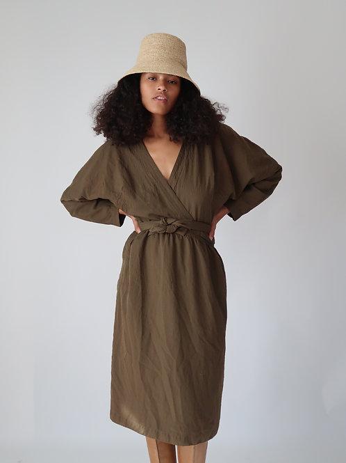 Thierry Mugler Wrap Dress