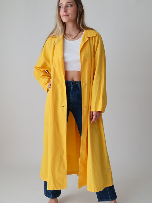 Yellow Cotton Duster