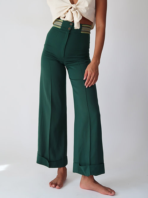 Forest Green Pants