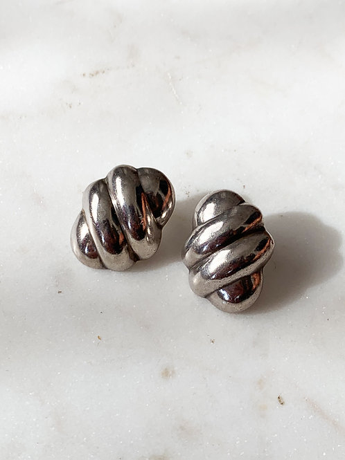 Chunky Silver Posts