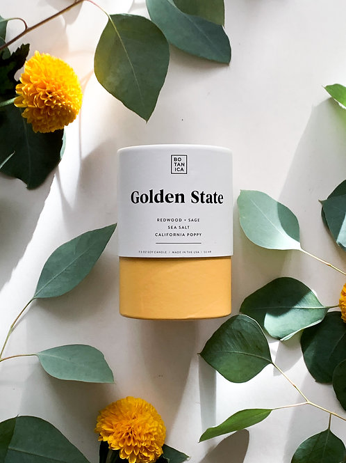 Botanica Candles | Golden State