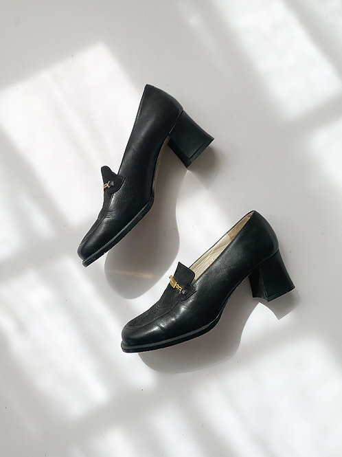 Courrèges Heeled Loafers   US 6