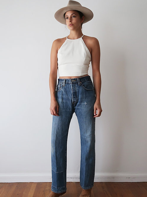 Patched Levis 501's | 31w