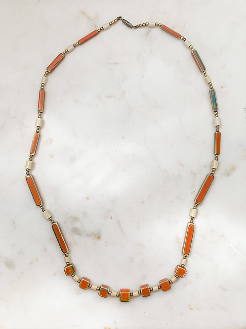 Beaded 60's Necklace