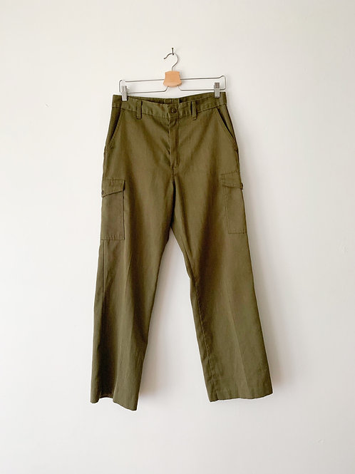 Olive Scout Trousers | 30w