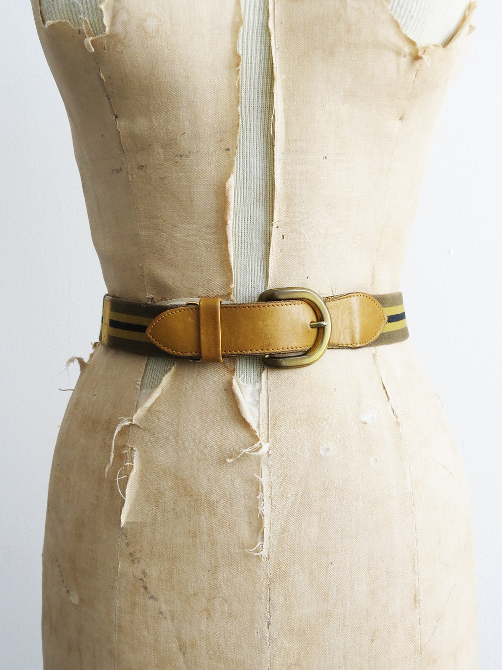 070201fe9c Striped Stretch Belt