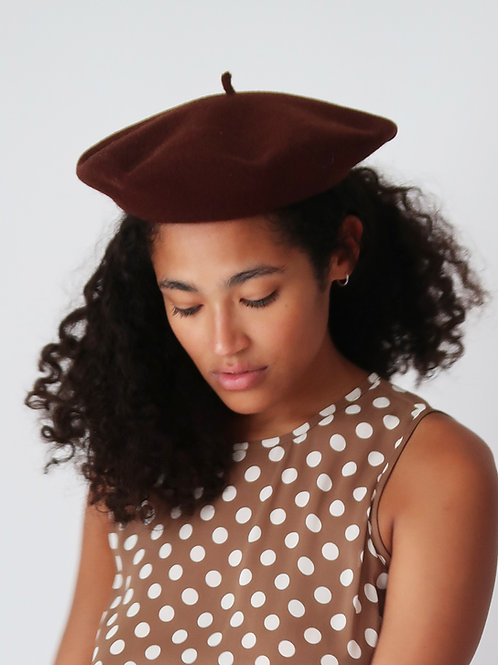 French Wool Beret