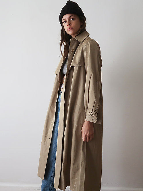 Cuff Sleeve Trench