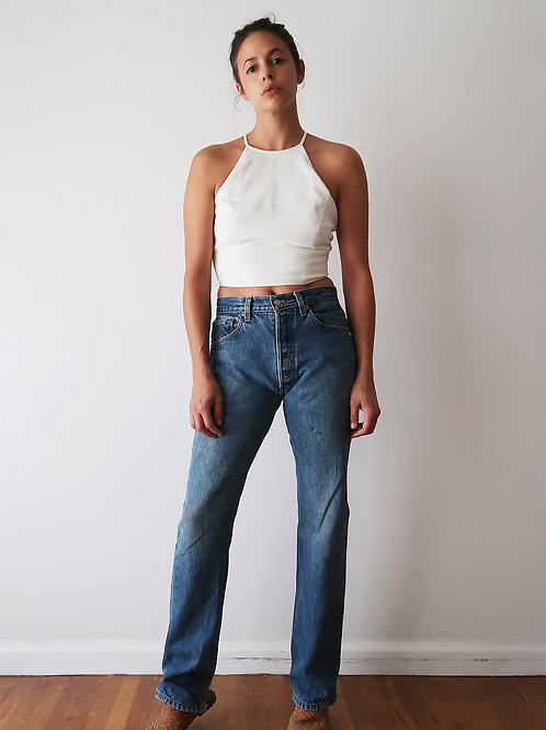 Levis 501's mid-wash | 27w