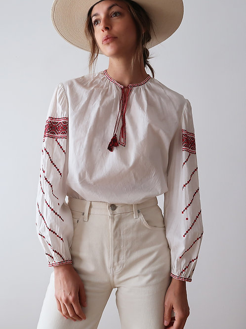 Embroidered Festival Blouse