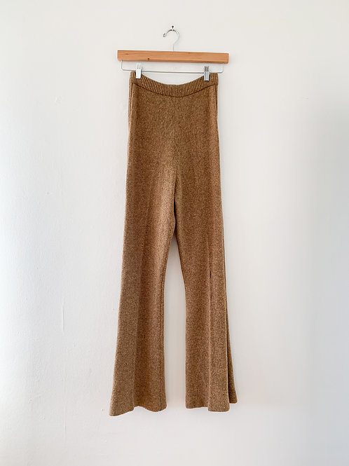 Stretch Knit Pants | Cocoa