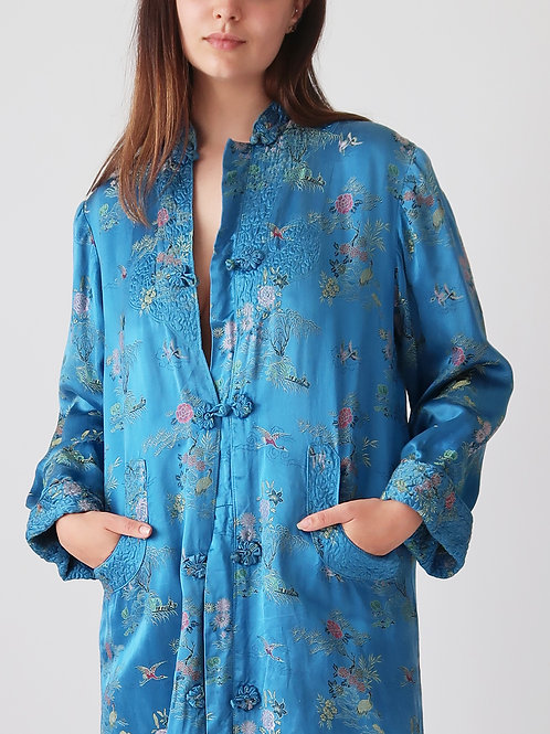 Silk Chinese Duster