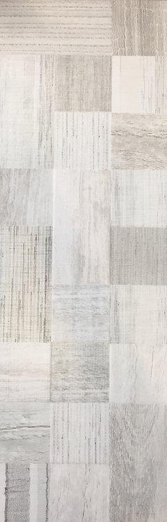 Shabby Chic Grey Blend Italian Timber Look Porcelain Tile 250x750x10mm