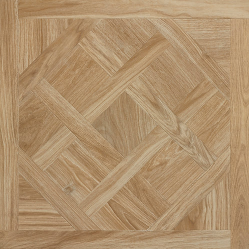 Light Oak Parquetry Italian Rectified Timber Look Porcelain Tile 750x750x10mm
