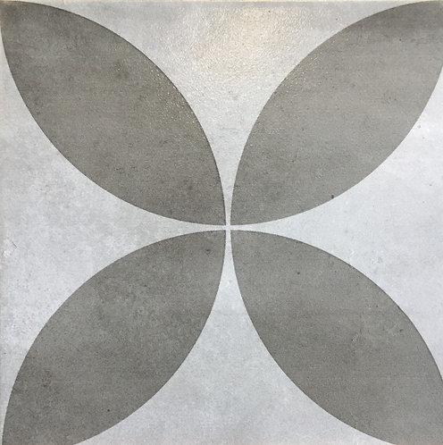 Picasso Flora Grey Matt Encaustic Look 200x200x7mm