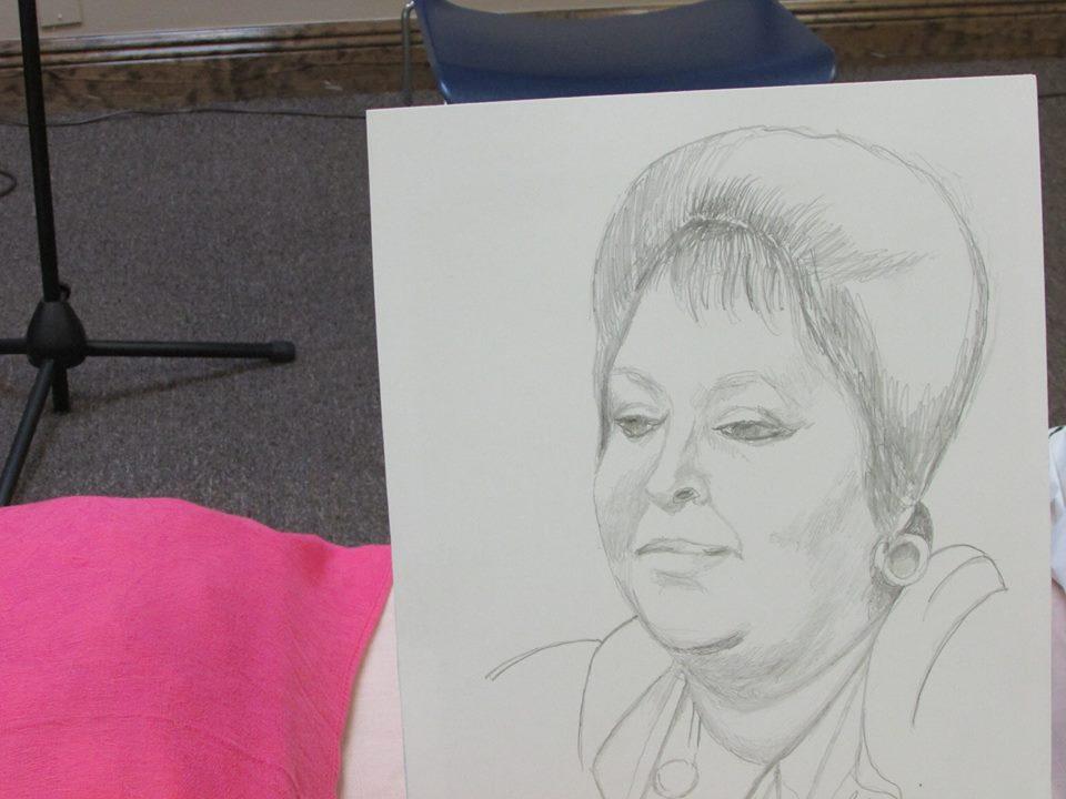 Retrato de Carmenluisa Pinto