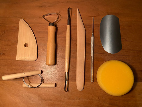 Basic Pottery Tool Kit