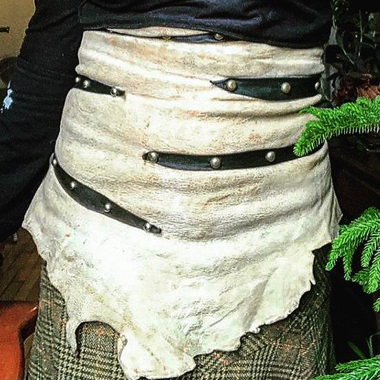 Leather Skirt/Apron