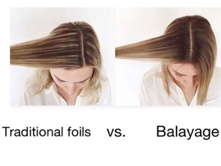 However you say it... that balayage thing!