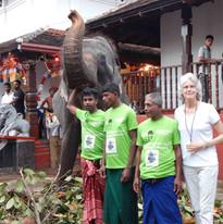 The team at Kataragama Temple