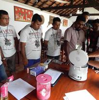Microhematocrit centrifuge demonstration