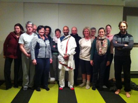 Workshop done in Belgium