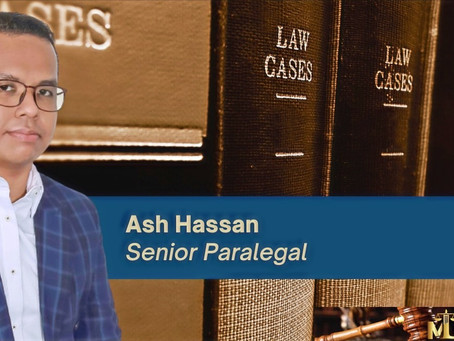 Magna Law Corporation welcomes Ash Hassan as Senior Paralegal