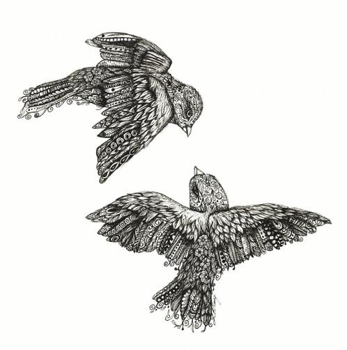 mandala birds