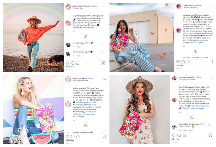 Instagram influencers are losing an average of $3,100 per week