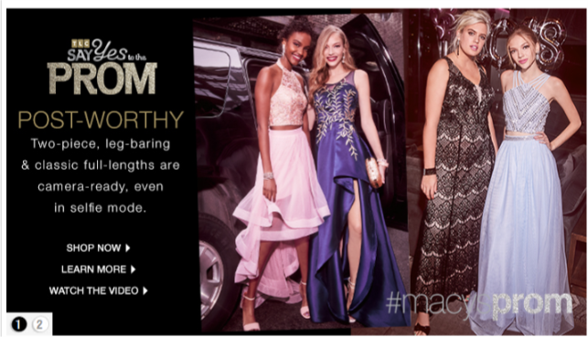 Macy's partners with Becca's Closet and TLC's Say Yes to the Prom to help underserved girls have an