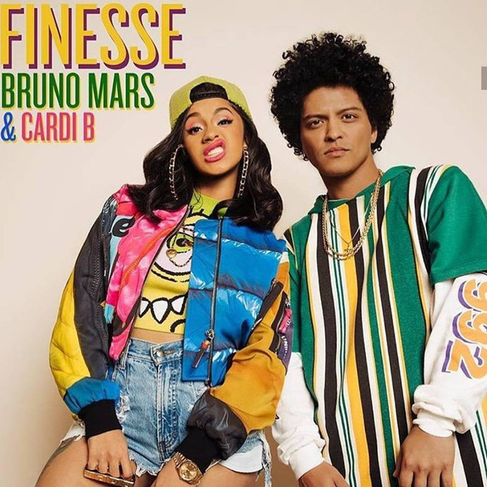 Bruno Mars And Cardi B Kill It In A 'Finesse' Remix For The Ages