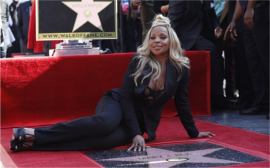 Mary J. Blige honored with star on Hollywood Walk of FameMary J. Blige honored with star on Hollywoo