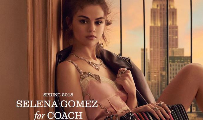 Selena Gomez for Coach Spring 2018