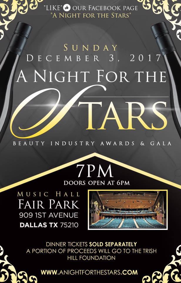 A NIGHT FOR STARS DECEMBER 3, 2017