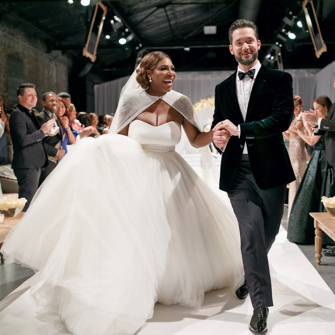 Serena Williams and Alexis Ohanian's Dreamy Wedding