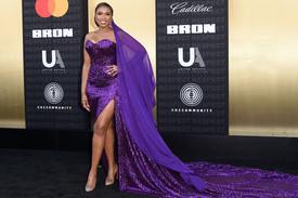 Jennifer Hudson dazzles at the Premier of Aretha Franklin Movie