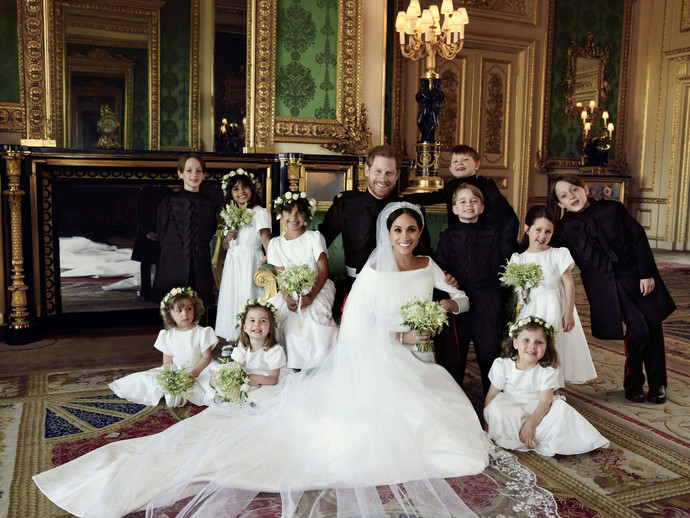 Their Royal Highnesses The Duke and Duchess of Sussex have released three official photographs from