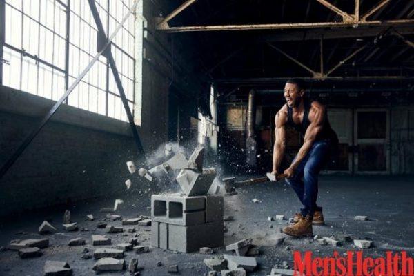 Michael B. Jordan heats up for Men's Health Magazine