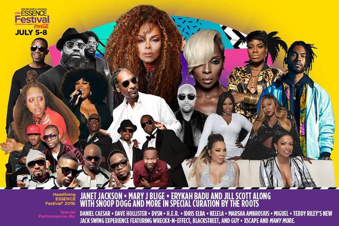 ESSENCE MUSIC FESTIVAL COVERAGE 2019