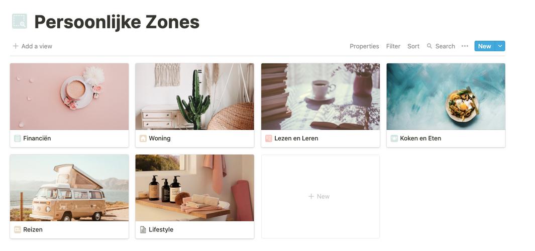 Persoonlijke zones