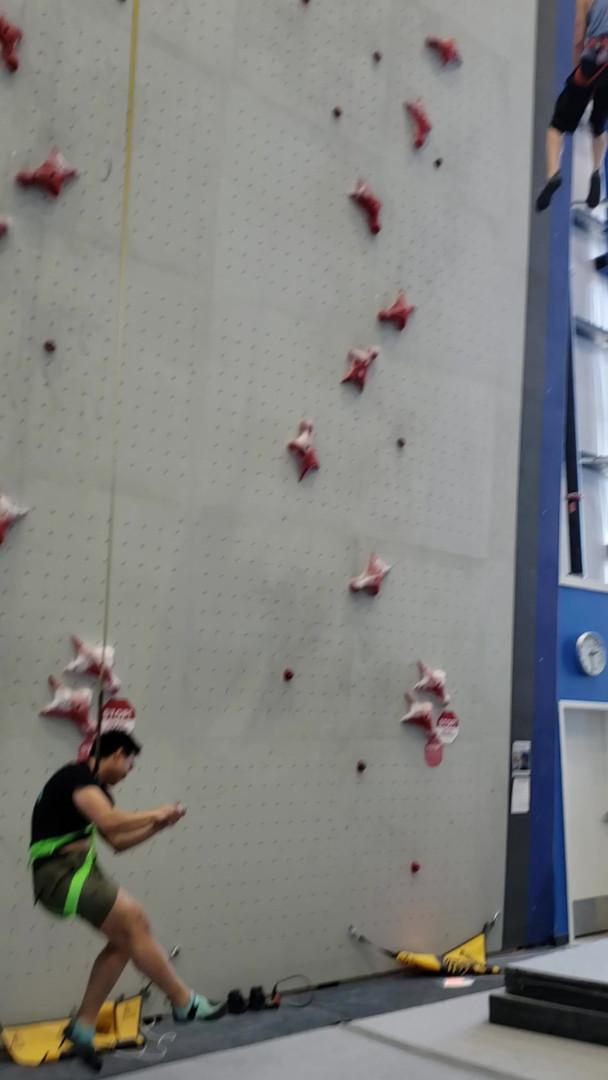 hans florine reach climbing gym speed wa