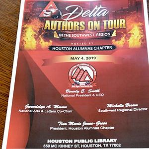 Delta Author on Tour