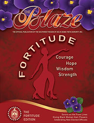 The Blaze Fortitude Cover
