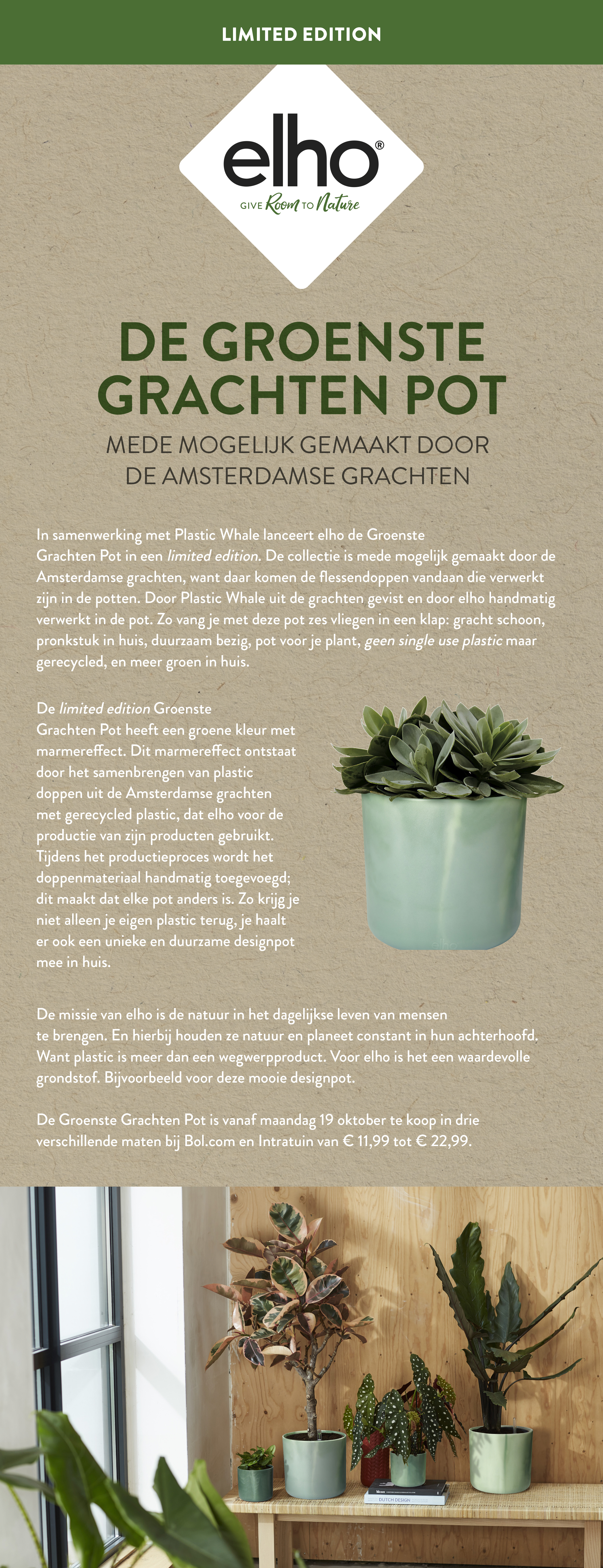 Persbericht Grachtenpot - elho