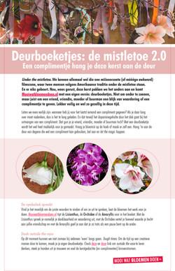 Deurboeketjes Persbericht - Bloemenbureau Holland