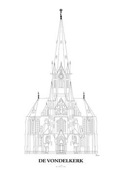 Vondelkerk - Afscheidscadeau